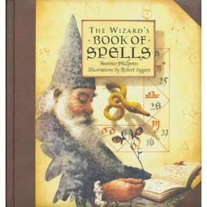 The Wizard's Book of Spells  Front Cover
