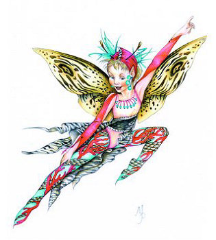 Fashion Fairy Coral, Copyright© 2005 Fairies World