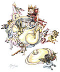 Teapot Fairies Copyright© 2005 Myrea Pettit