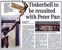 Tinkerbell Reunited with Peter Pan More Information