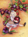 Victoria Plum Fairy, Copyright©  2005 Fairies World