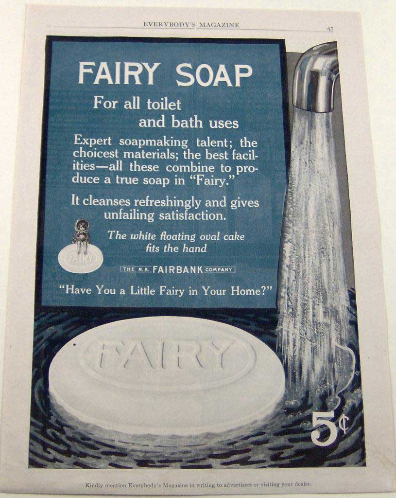 Fairy Soap Historical Adverts