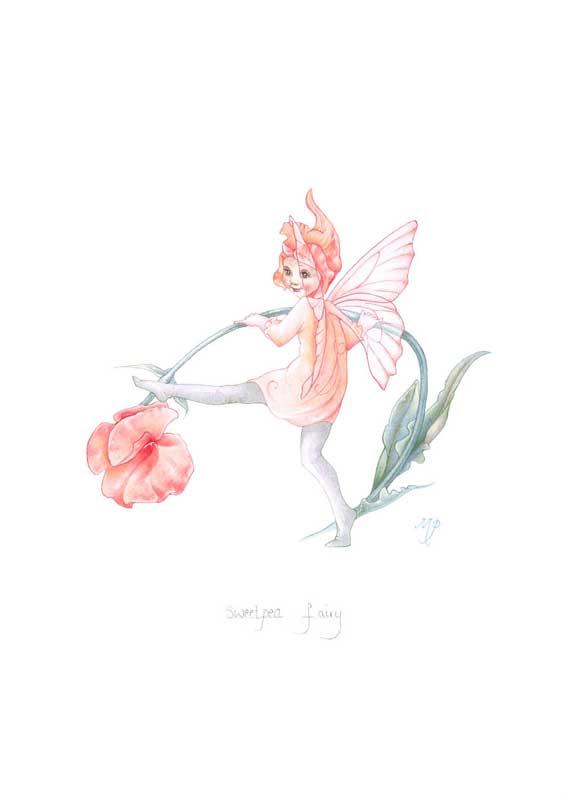 Recent Fairy Art By Myrea Pettit