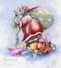 Santa Mouse © Myrea Pettit
