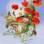 The Poppy Fairy2012©Myrea Pettit