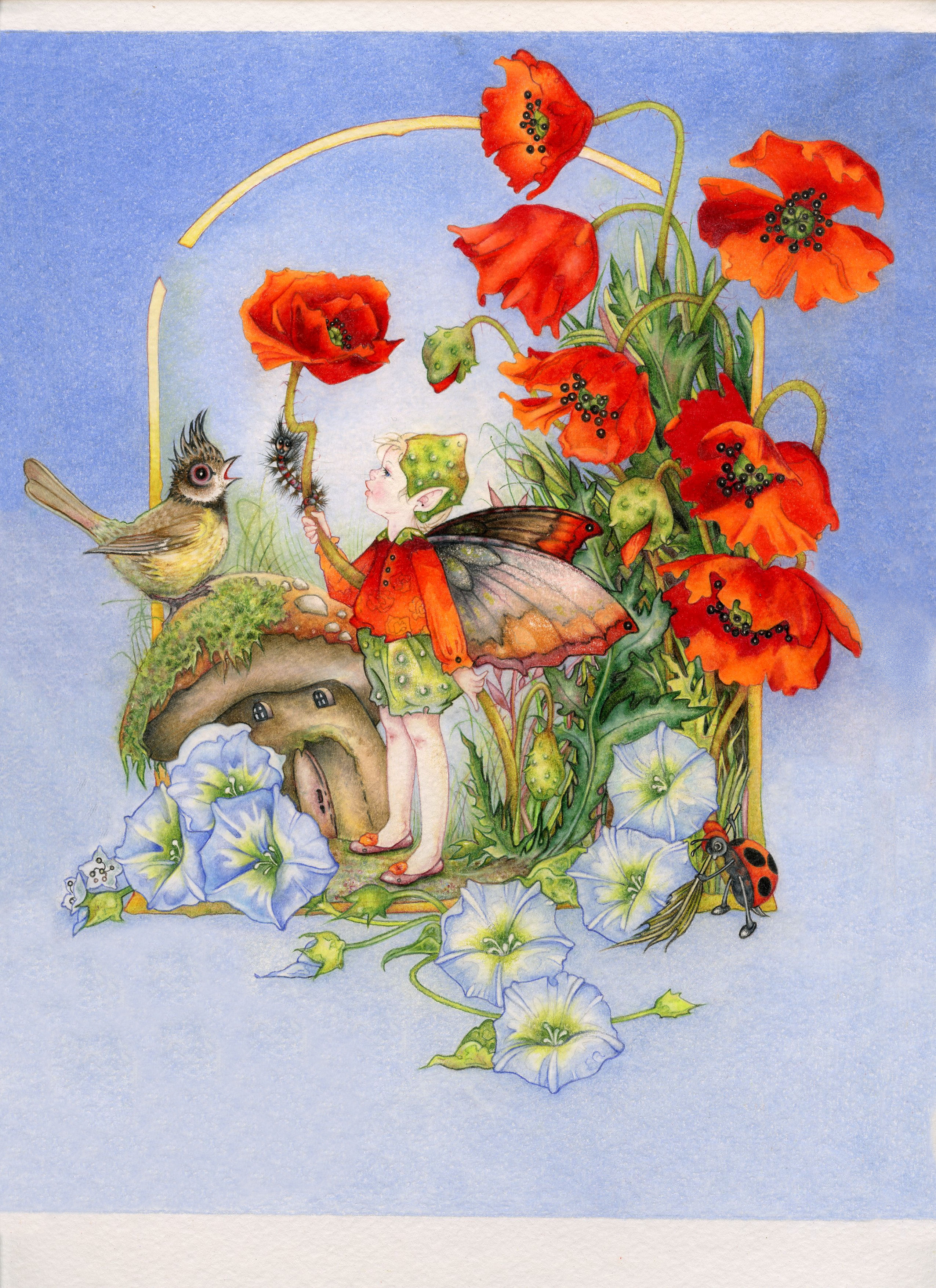 Fairy Poems And Poetry By Poets From Around The World The Bird And