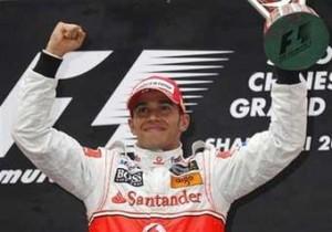 Fairy tale  win for Lewis Hamilton