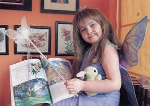WaterColor Fairies book is dedicated to Aimee