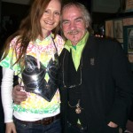 Terry English with Myrea pettit