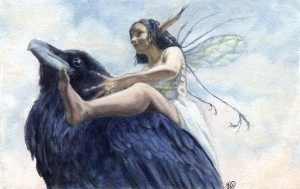Julie Baroh2011©Fairy and Crow